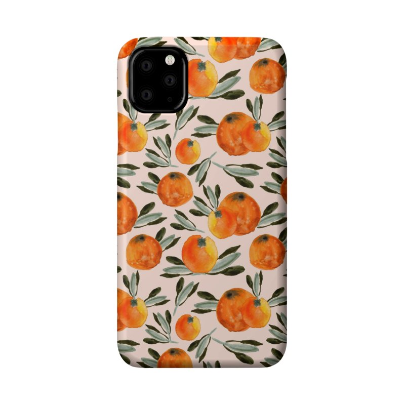 Sonnige Orange Accessories Phone Case by Threadless Artist Shop