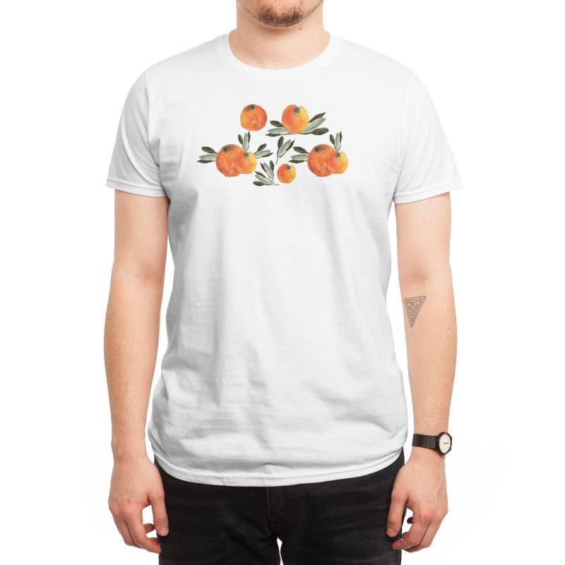 Sonnige Orange Men's T-Shirt by Threadless Artist Shop