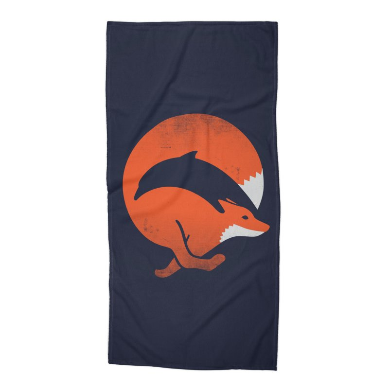 Dolphox Accessories Beach Towel by Threadless Artist Shop