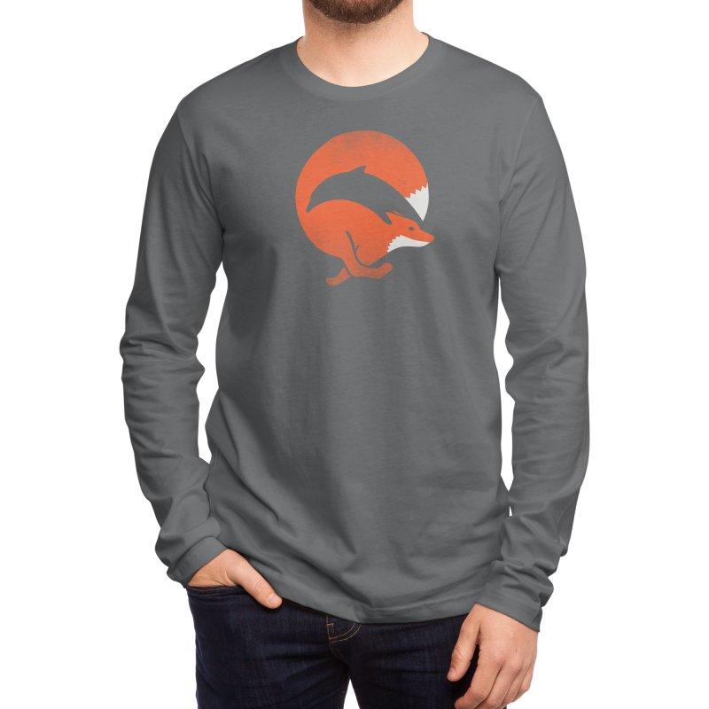 Dolphox Men's Longsleeve T-Shirt by Threadless Artist Shop