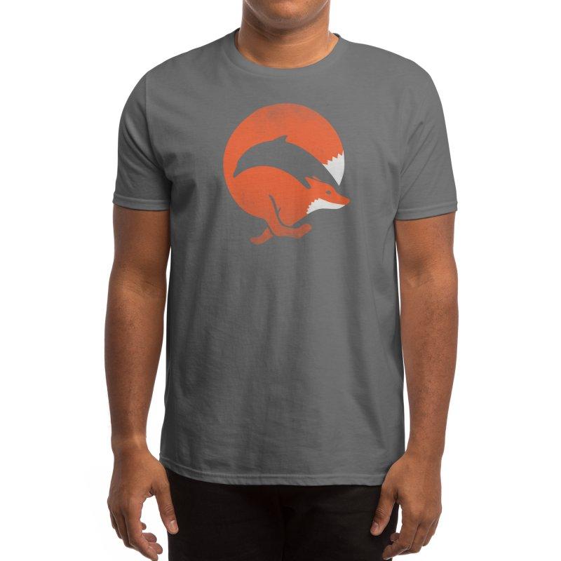 Dolphox Men's T-Shirt by Threadless Artist Shop