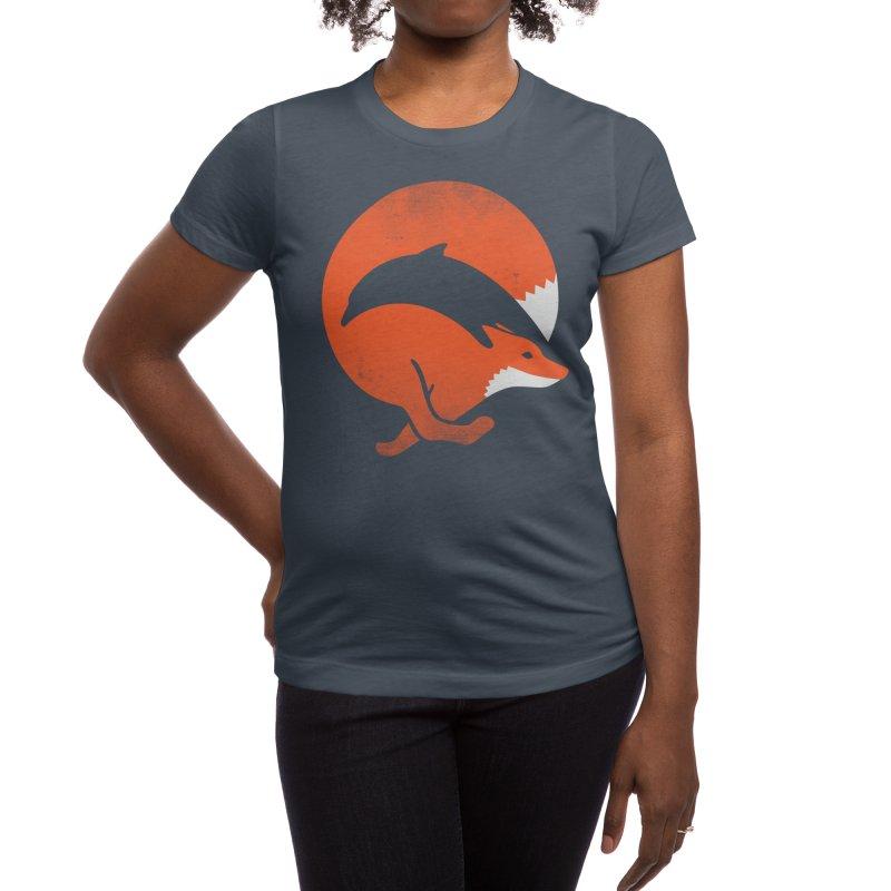 Dolphox Women's T-Shirt by Threadless Artist Shop
