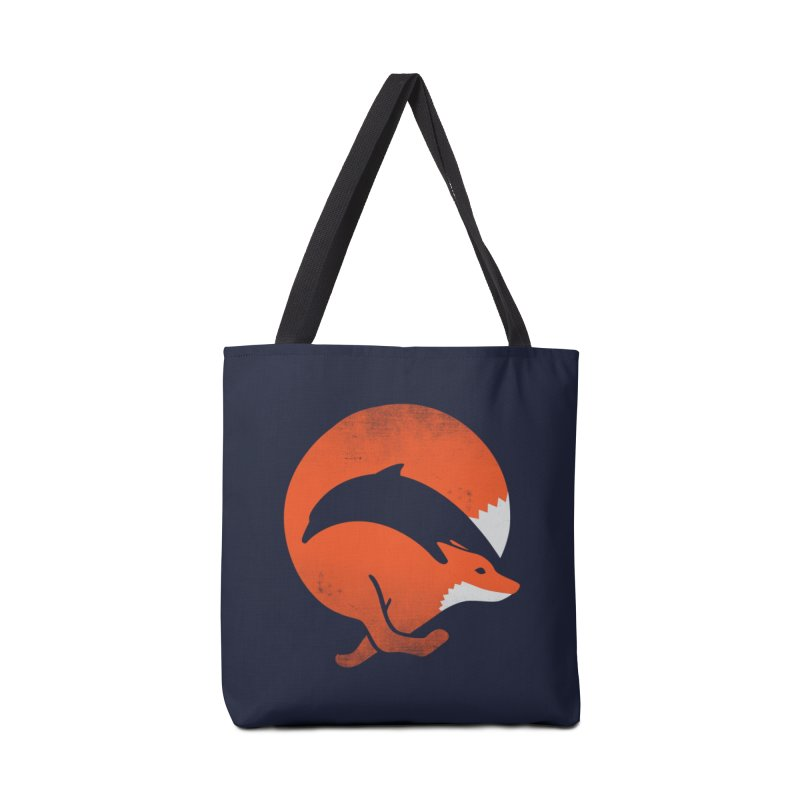 Dolphox Accessories Bag by Threadless Artist Shop