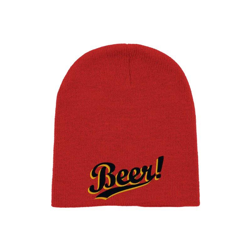 Beer! Accessories Hat by Threadless Artist Shop