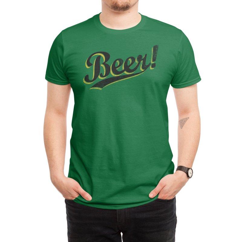Beer! Men's T-Shirt by Threadless Artist Shop