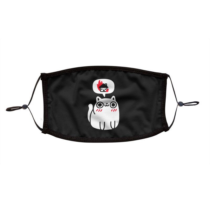 Dreaming Of Destruction Accessories Face Mask by Threadless Artist Shop