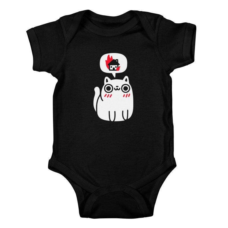 Dreaming Of Destruction Kids Baby Bodysuit by Threadless Artist Shop