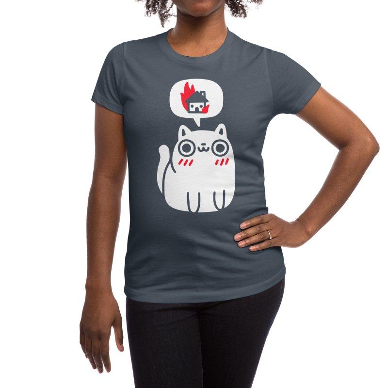 Dreaming Of Destruction Women's T-Shirt by Threadless Artist Shop