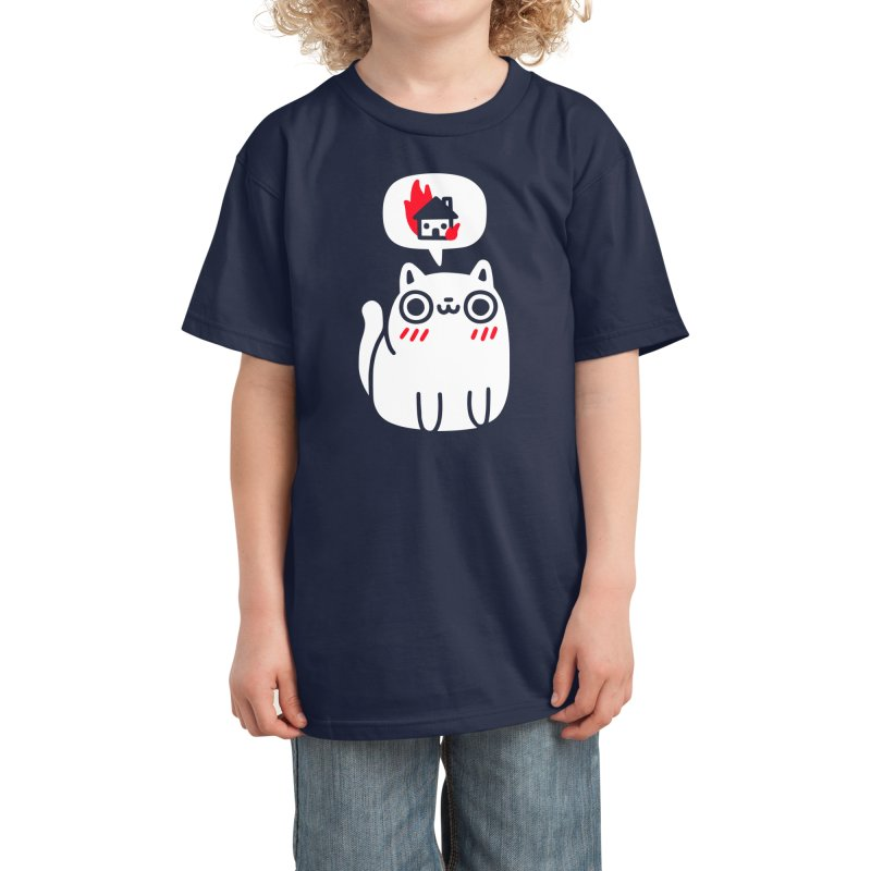 Dreaming Of Destruction Kids T-Shirt by Threadless Artist Shop
