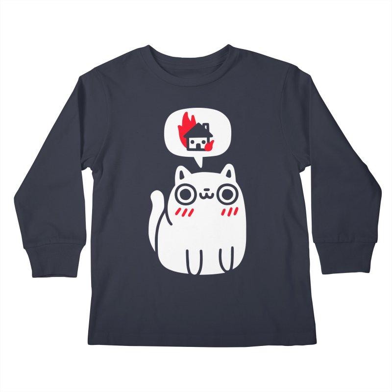 Dreaming Of Destruction Kids Longsleeve T-Shirt by Threadless Artist Shop