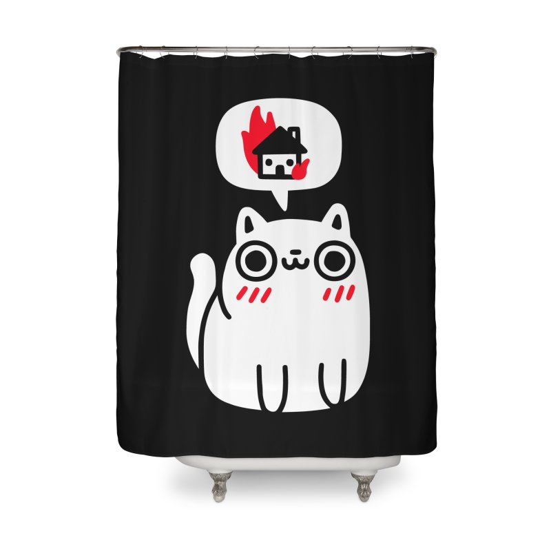 Dreaming Of Destruction Home Shower Curtain by Threadless Artist Shop