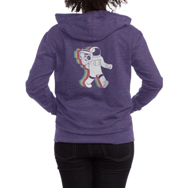 Funkalicious Women's Zip-Up Hoody by Threadless Artist Shop