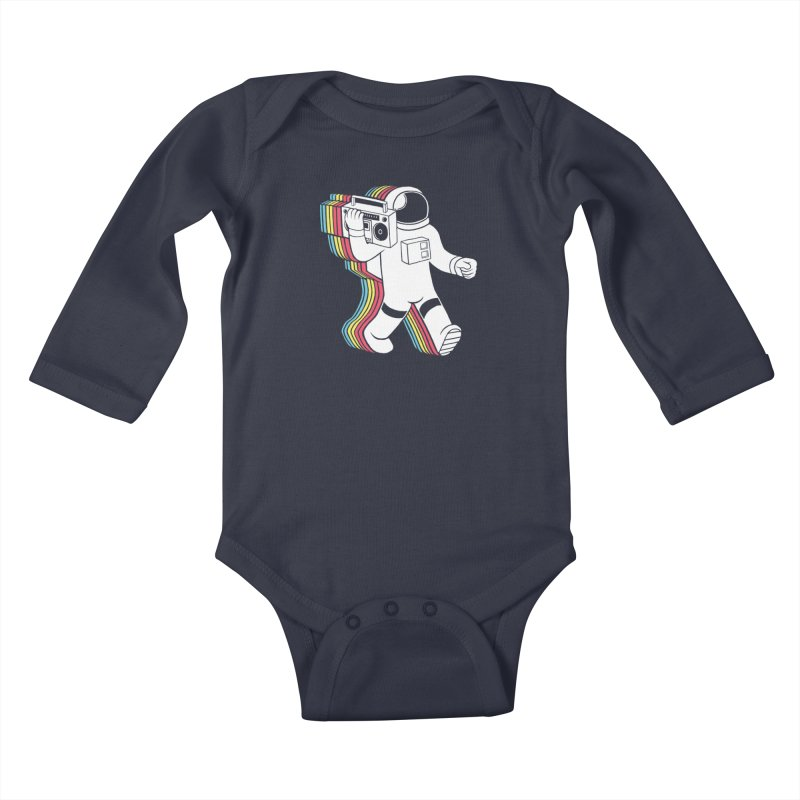 Funkalicious Kids Baby Longsleeve Bodysuit by Threadless Artist Shop