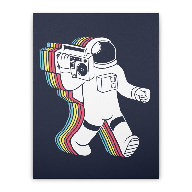Funkalicious Home Stretched Canvas by Threadless Artist Shop