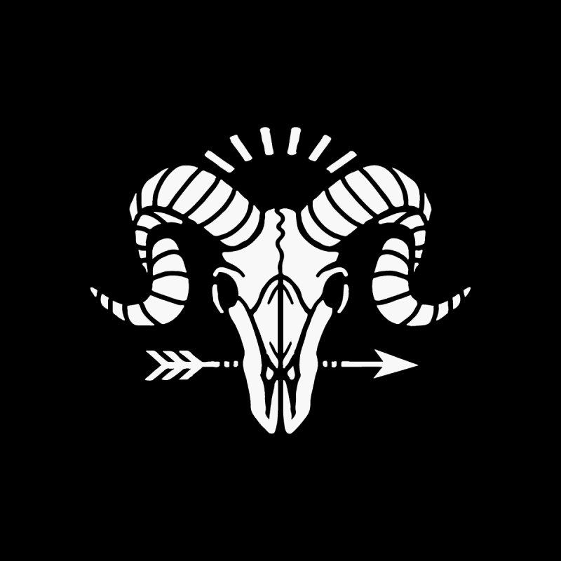 Goat Skull Accessories Hat by Threadless Artist Shop