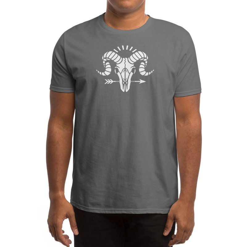Goat Skull Men's T-Shirt by Threadless Artist Shop