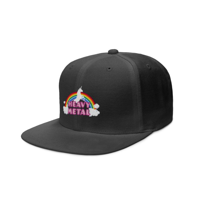 HEAVY METAL! Accessories Hat by Threadless Artist Shop