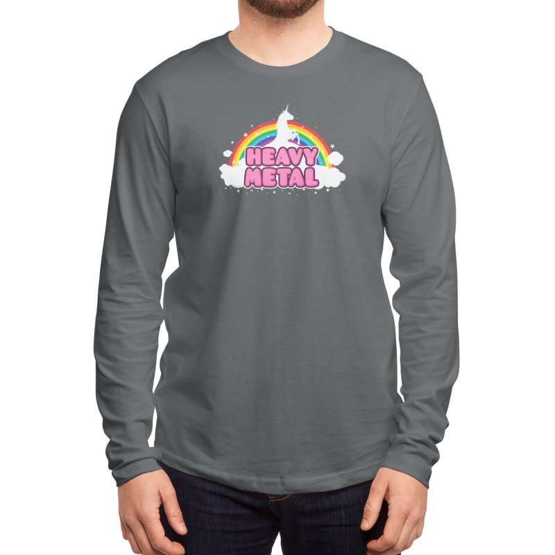 HEAVY METAL! Men's Longsleeve T-Shirt by Threadless Artist Shop