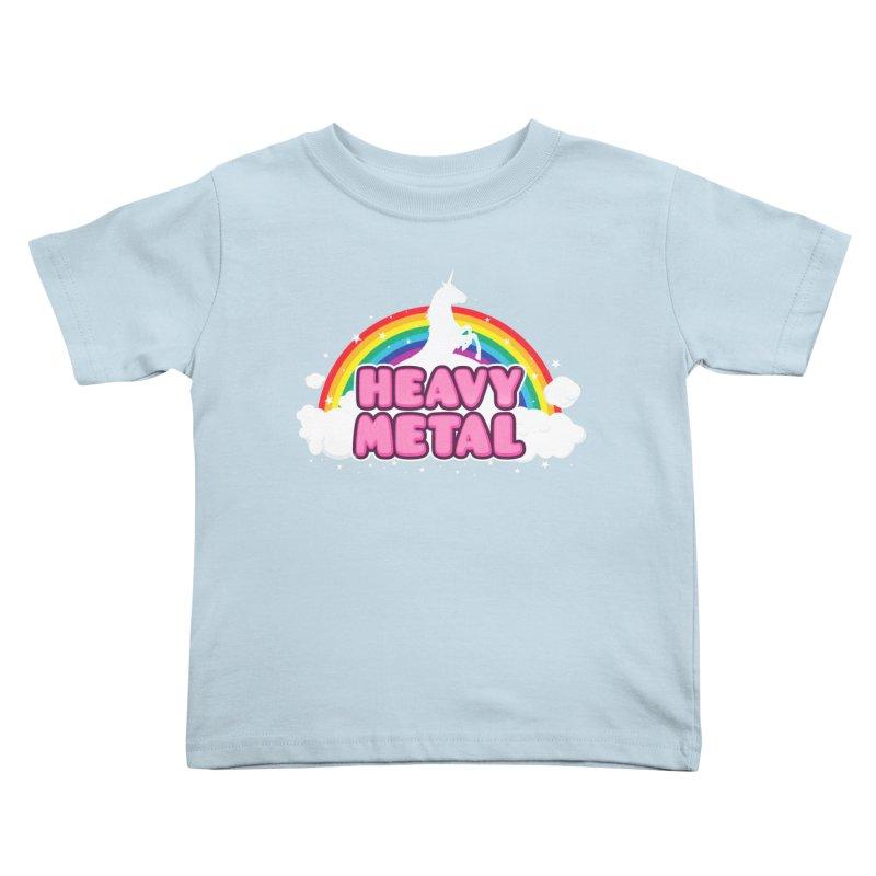HEAVY METAL! Kids Toddler T-Shirt by Threadless Artist Shop