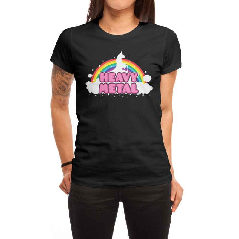 HEAVY METAL! Women's T-Shirt by Threadless Artist Shop
