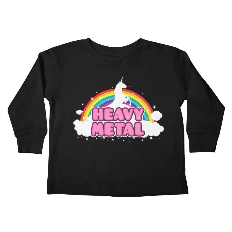 HEAVY METAL! Kids Toddler Longsleeve T-Shirt by Threadless Artist Shop