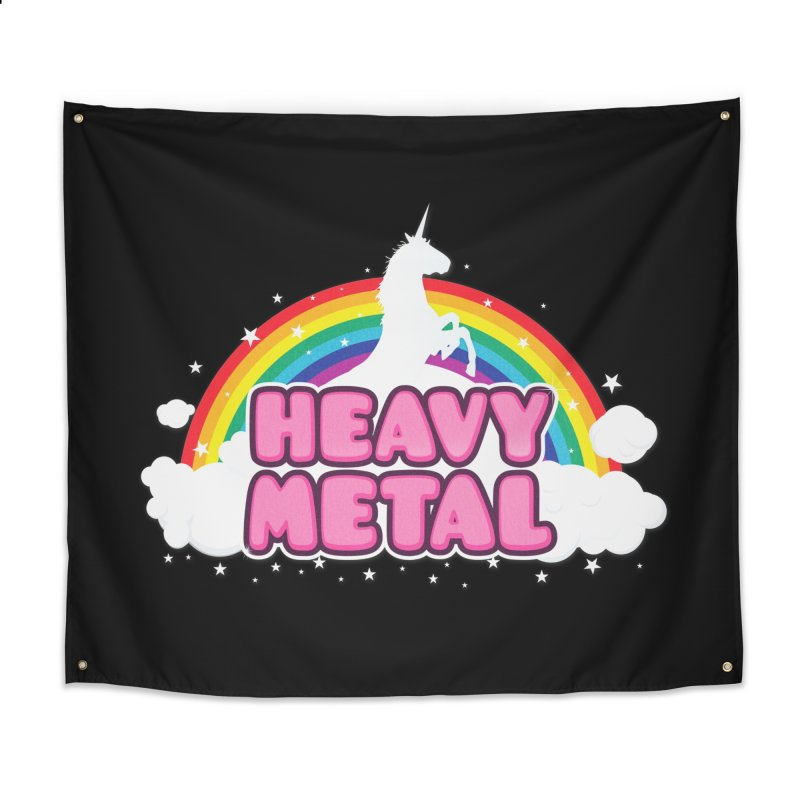 HEAVY METAL! Home Tapestry by Threadless Artist Shop