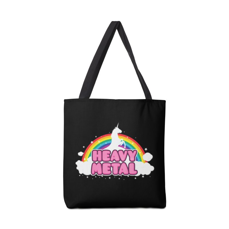HEAVY METAL! Accessories Bag by Threadless Artist Shop