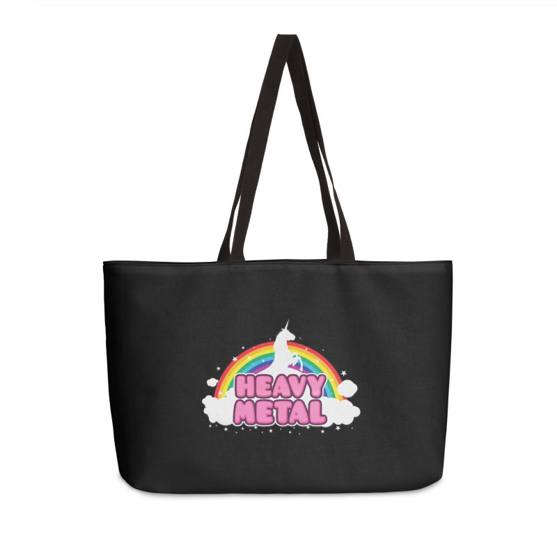 HEAVY METAL! Accessories Bag by Threadless Artist Shop