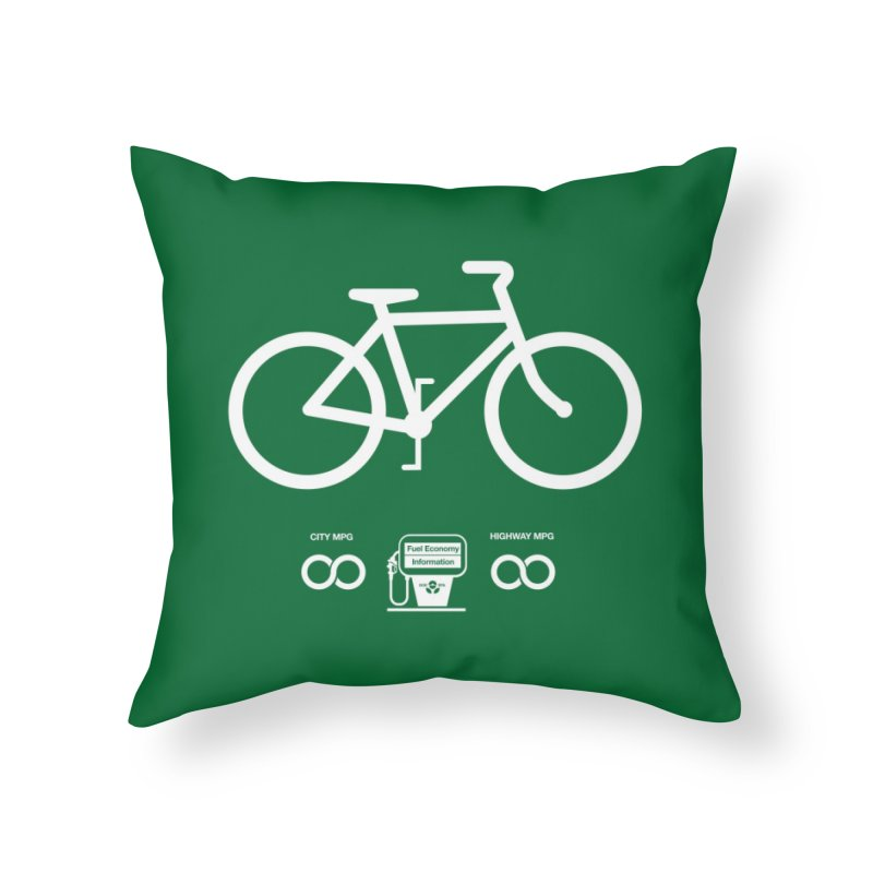 Infinity MPG Home Throw Pillow by Threadless Artist Shop