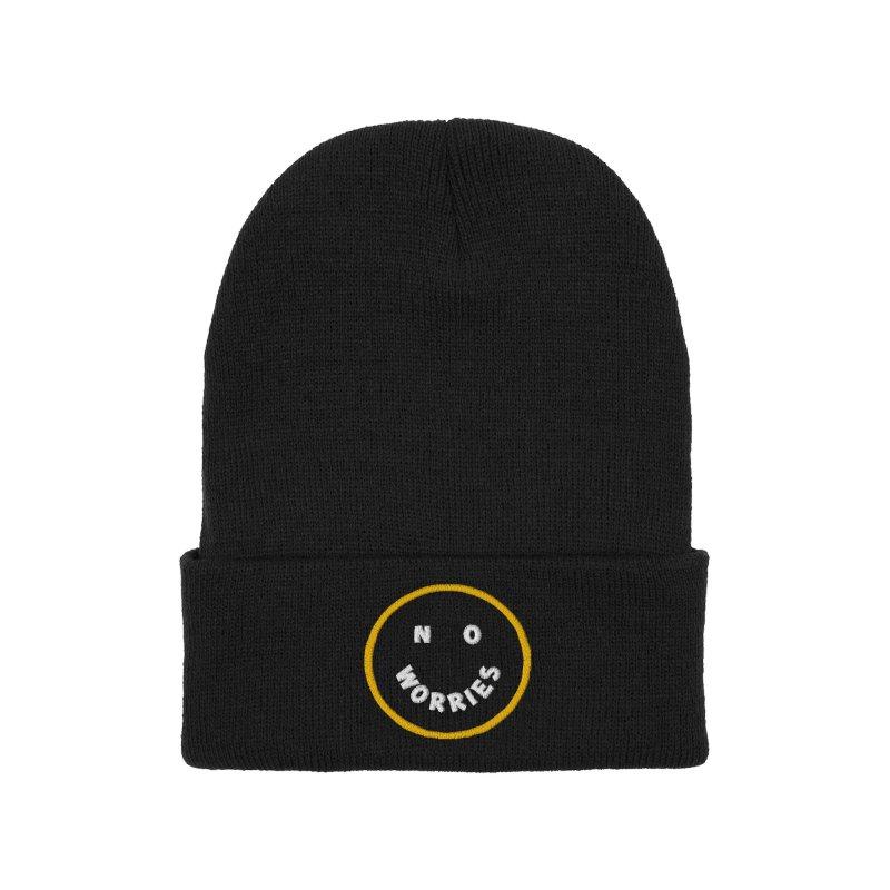 No Worries Accessories Hat by Threadless Artist Shop