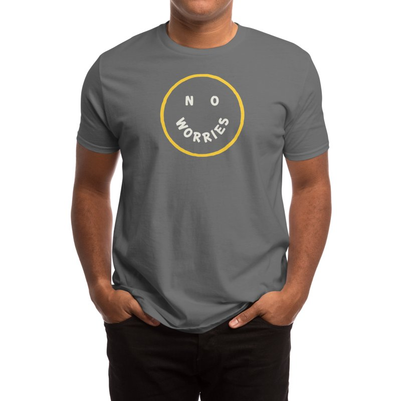 No Worries Men's T-Shirt by Threadless Artist Shop