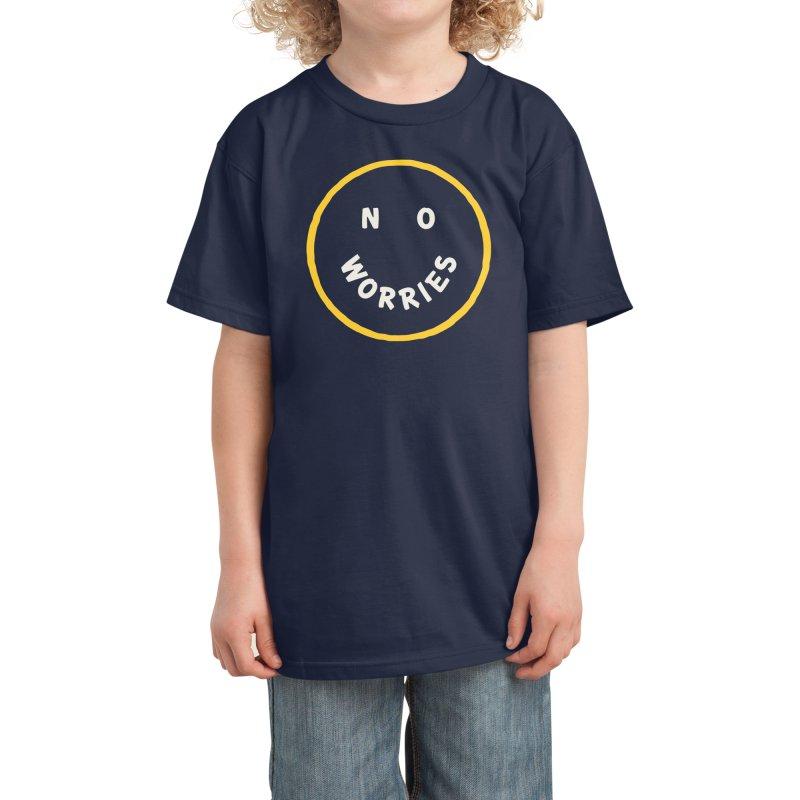 No Worries Kids T-Shirt by Threadless Artist Shop