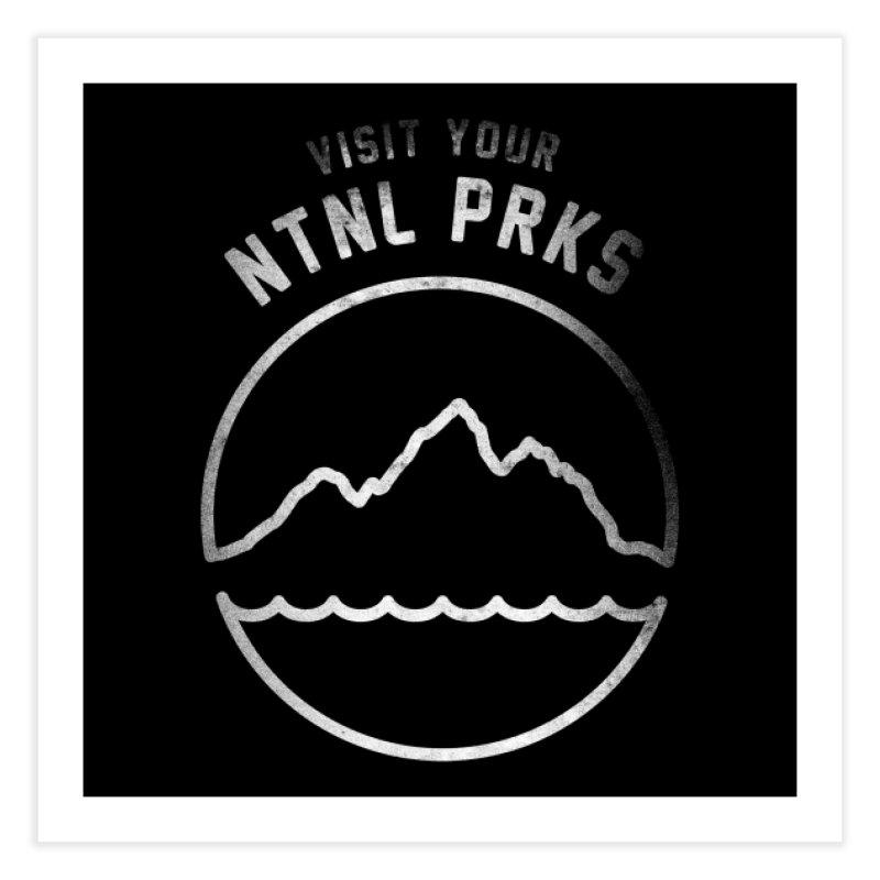 NTNL PRKS Home Fine Art Print by Threadless Artist Shop