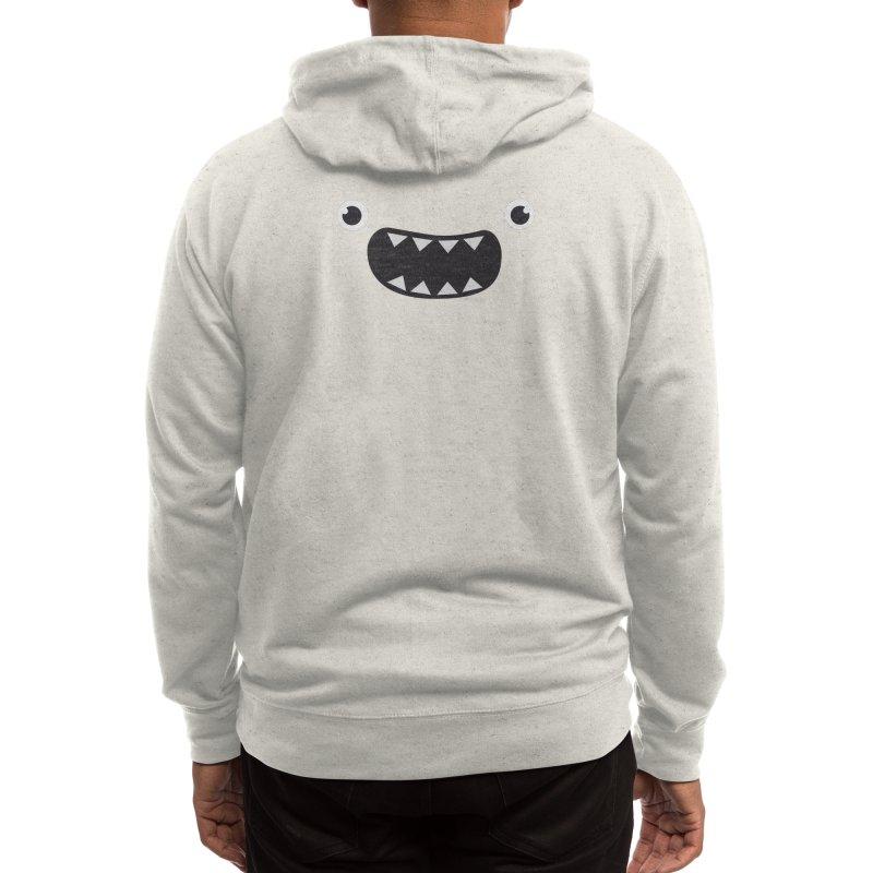 Om nom nom! Men's Zip-Up Hoody by Threadless Artist Shop