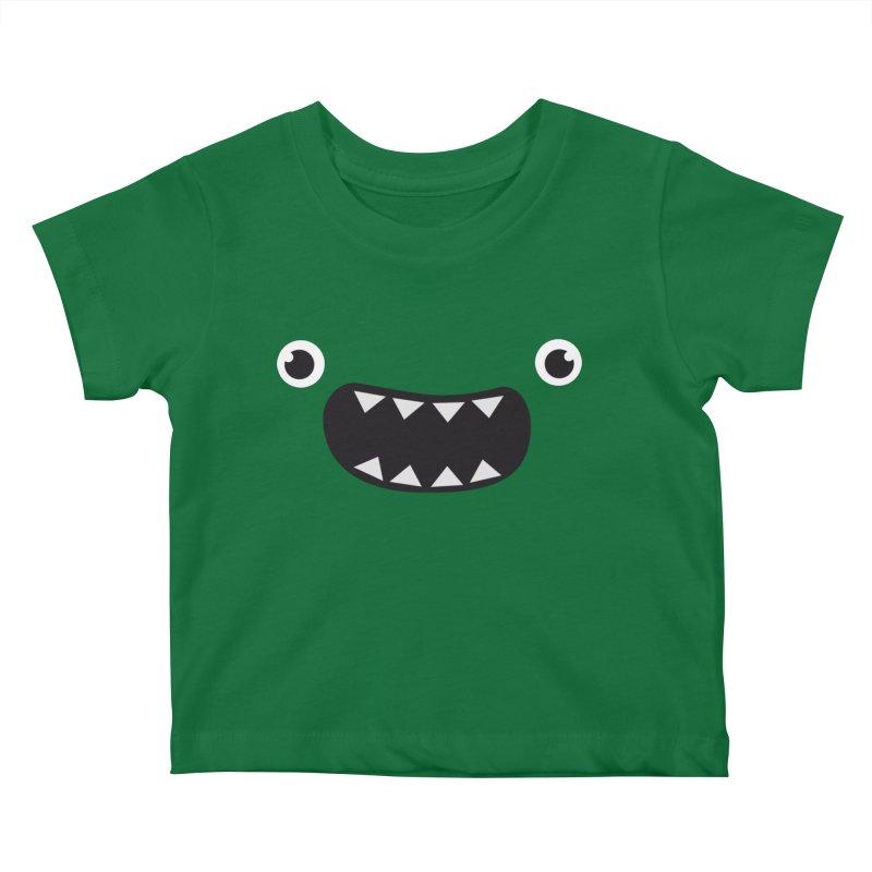Om nom nom! Kids Baby T-Shirt by Threadless Artist Shop