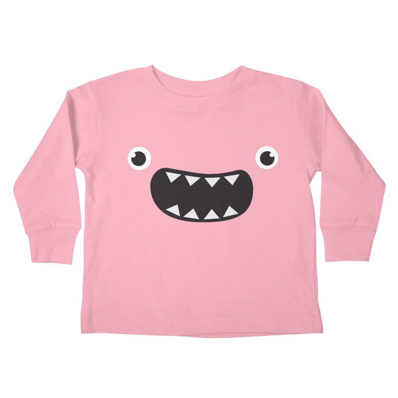 Om nom nom! Kids Toddler Longsleeve T-Shirt by Threadless Artist Shop