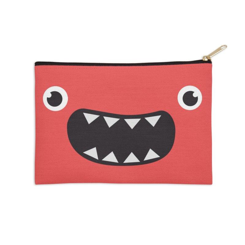 Om nom nom! Accessories Zip Pouch by Threadless Artist Shop