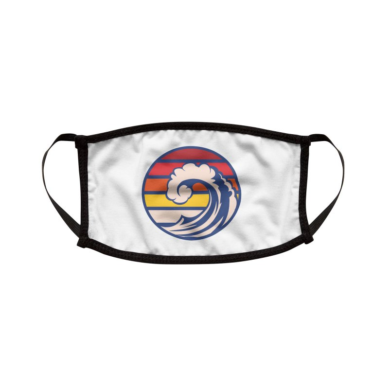Ride the Wave Accessories Face Mask by Threadless Artist Shop