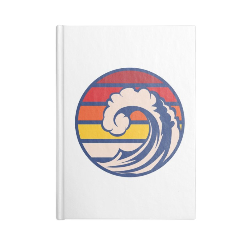 Ride the Wave Accessories Notebook by Threadless Artist Shop