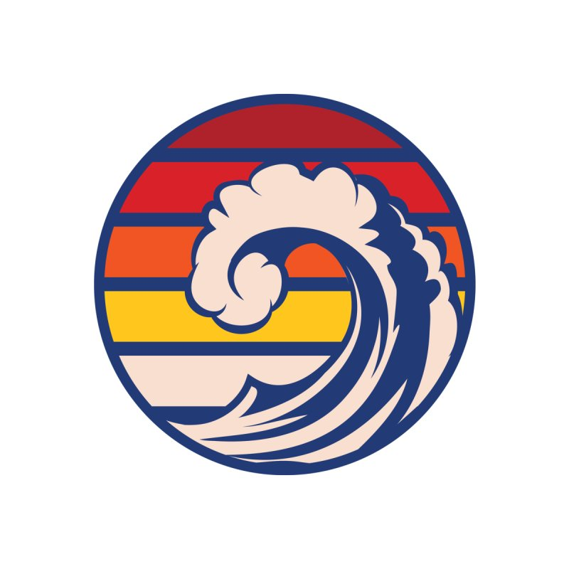 Ride the Wave Accessories Beach Towel by Threadless Artist Shop