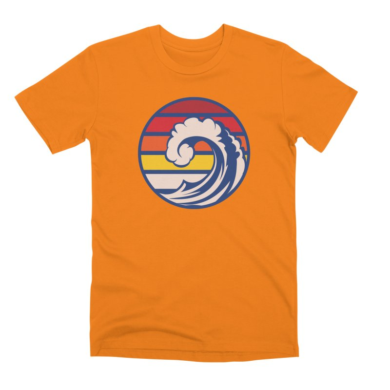 Ride the Wave Men's T-Shirt by Threadless Artist Shop