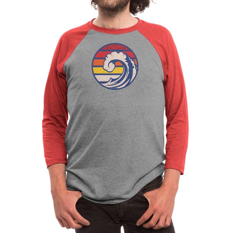 Ride the Wave Men's Longsleeve T-Shirt by Threadless Artist Shop