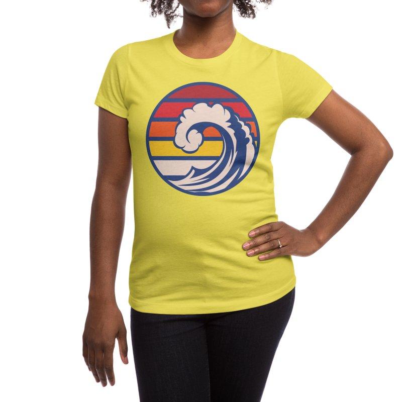 Ride the Wave Women's T-Shirt by Threadless Artist Shop