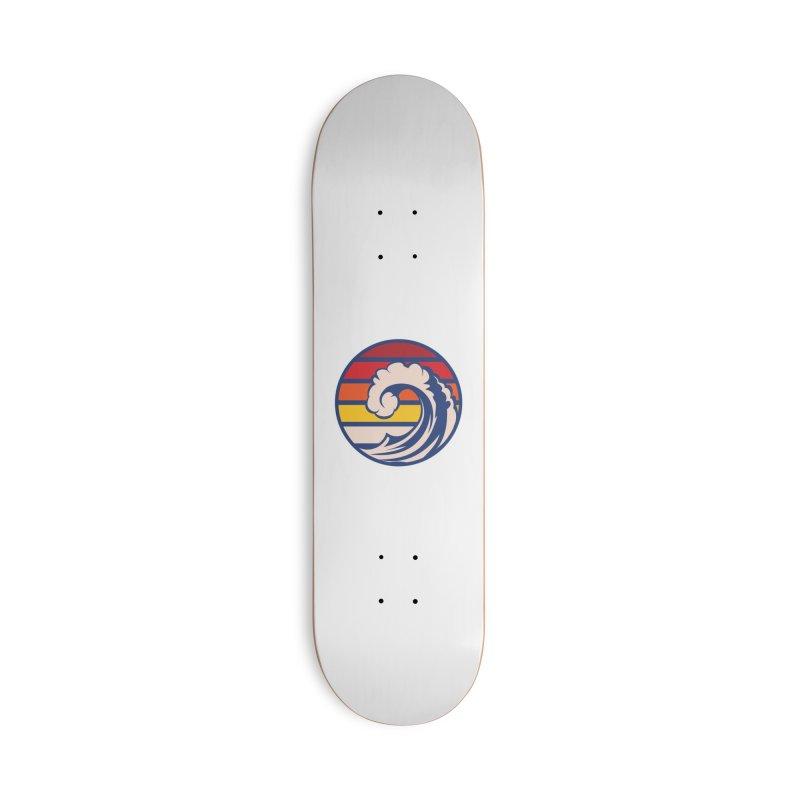 Ride the Wave Accessories Skateboard by Threadless Artist Shop