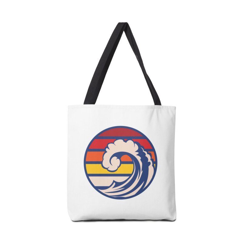 Ride the Wave Accessories Bag by Threadless Artist Shop