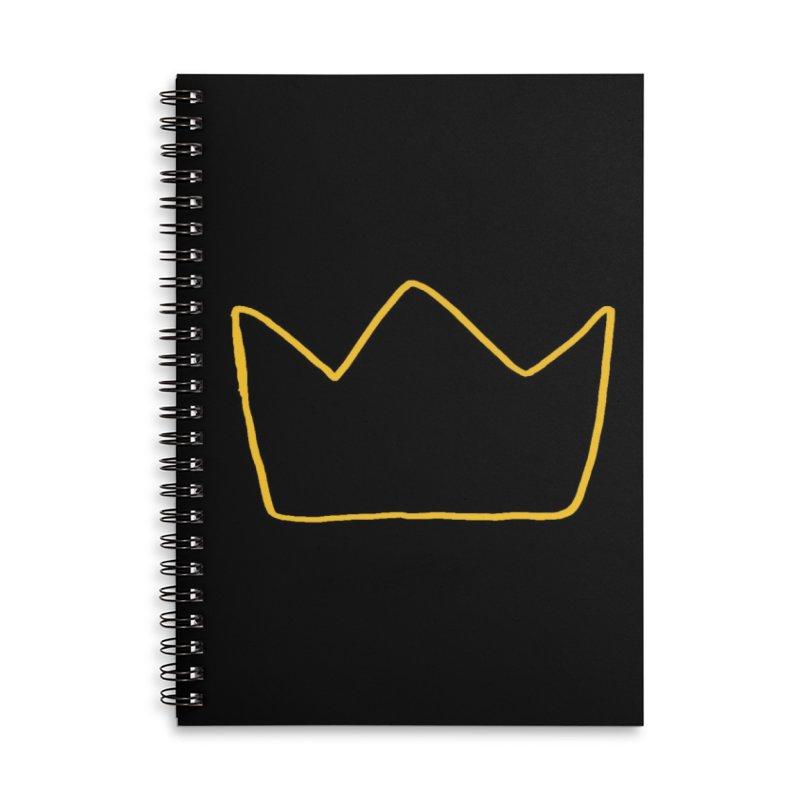 Royal Accessories Notebook by Threadless Artist Shop