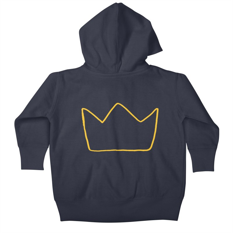 Royal Kids Baby Zip-Up Hoody by Threadless Artist Shop
