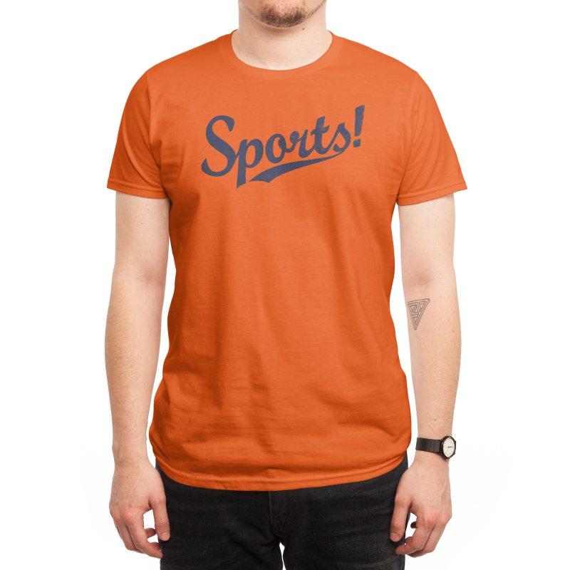 Sports! Men's T-Shirt by Threadless Artist Shop