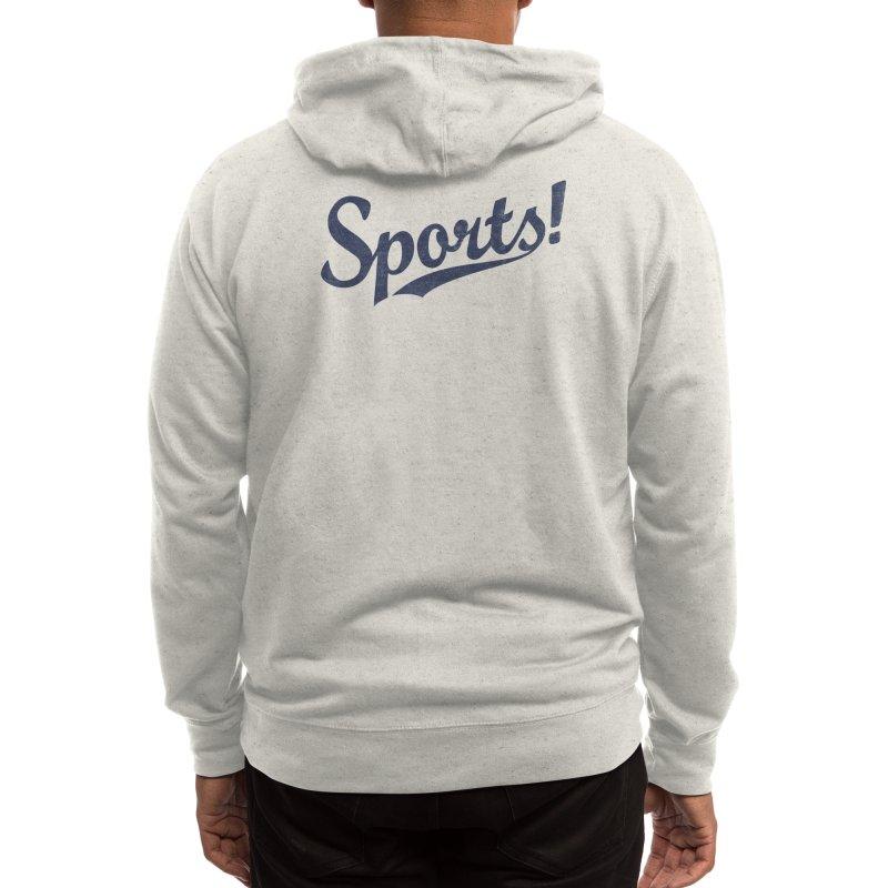 Sports! Men's Zip-Up Hoody by Threadless Artist Shop