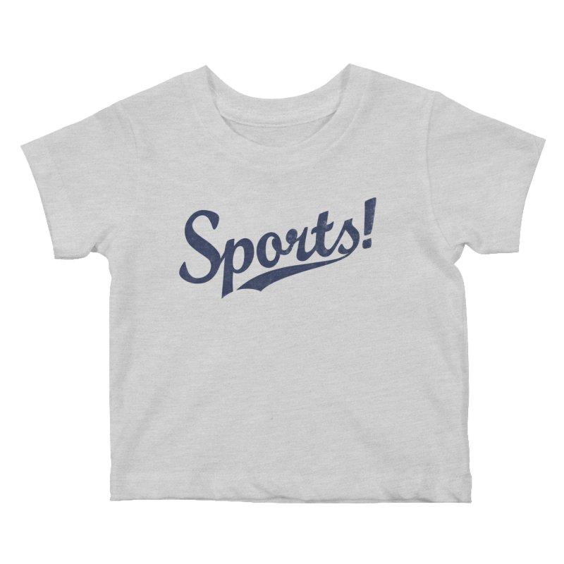 Sports! Kids Baby T-Shirt by Threadless Artist Shop